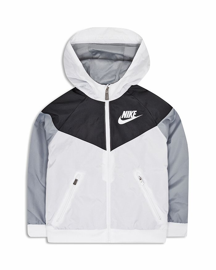57bc91a01759 Nike Boys  Windrunner Hooded Windbreaker Jacket - Little Kid ...