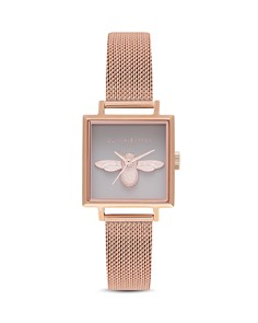 Olivia Burton - 3D Bee Watch, 22.5mm x 22.5mm - 100% Exclusive