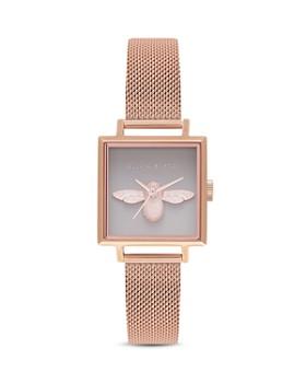 Olivia Burton - 3D Bee Watch, 22.5mm x 22.5mm - 100% Exclusive