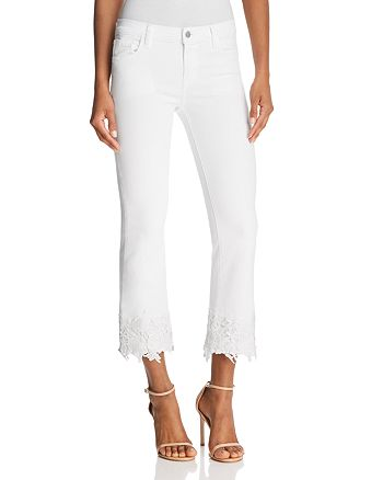 73a4b70ff8e3d J Brand - Selena Mid Rise Crop Boot Jeans in White Lace