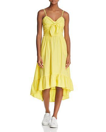 Joie - Clorinda Tie-Front Dress