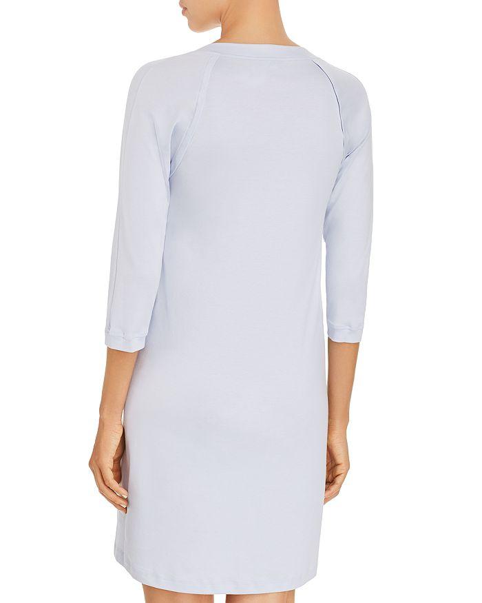 f4fe396055 Hanro Pure Essence Three-Quarter Sleeve Gown | Bloomingdale's
