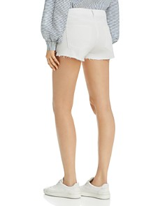 FRAME - Le Cutoff Denim Shorts in Blanc Rookley