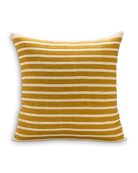 "Sugar Feather - Calvin Stripe Decorative Pillow, 22"" x 22"""