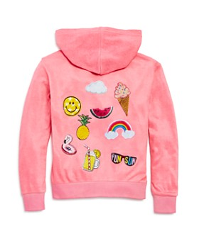 Play Six - Girls' Fun in the Sun Zip-Up Hoodie - Little Kid