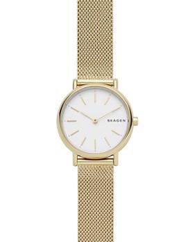 ecc08a9487f Skagen - Signatur Gold-Tone Slim Watch, ...