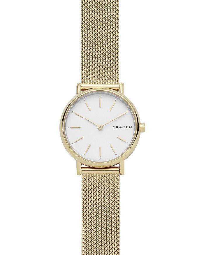 Skagen - Signatur Gold-Tone Slim Watch, 30mm