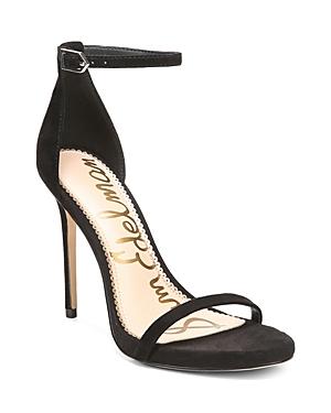 Sam Edelman Women's Ariella Suede High-Heel Ankle Strap Sandals