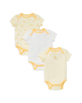 Little Me - Unisex Little Ducks Bodysuit, 3 Pack - Baby