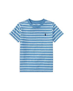Polo Ralph Lauren Boys Striped VNeck Tee  Little Kid