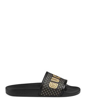bdc50d35a67 ... Gucci - Women s Pursuit Gucci SEGA® Print Slides