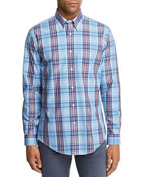 Brooks Brothers - Plaid Regular Fit Button-Down Shirt