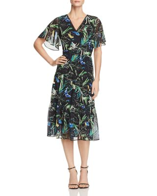 Lucie Bell Sleeve Midi Dress   100 Percents Exclusive by Le Gali