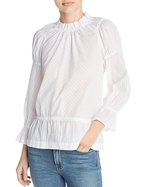 10 Crosby Derek Lam Ruffled Top