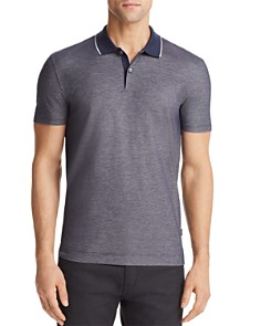 BOSS Piket Tipped Polo Shirt - Bloomingdale's_0