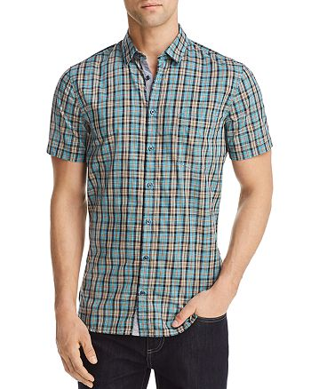 BOSS Hugo Boss - Cattitude Plaid Woven Regular Fit Button-Down Shirt
