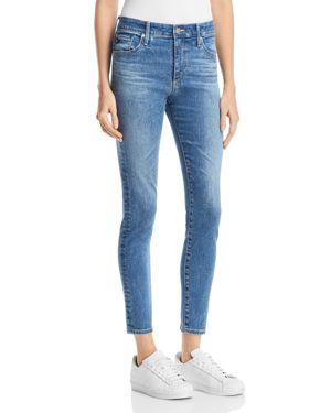 Farrah Ankle Skinny Jeans In California Blue
