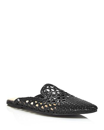 Sam Edelman - Women's Navya Woven Leather Mules