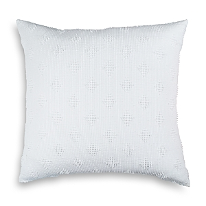 Peri Home Candlewick Diamond Euro Decorative Pillow, 26 x 26