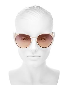 Longchamp - Women's Roseau Family Round Sunglasses, 56mm