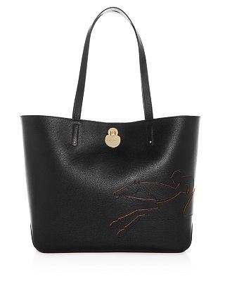 Longchamp Shop It Medium Leather Tote Bloomingdale S