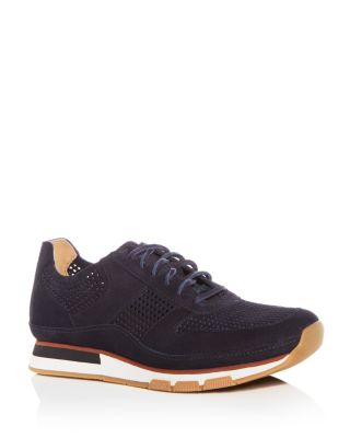 Larson Perforated Suede Lace