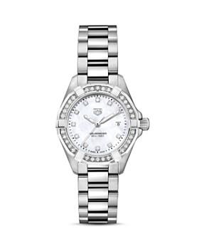TAG Heuer - Aquaracer Diamond Bezel Watch, 27mm