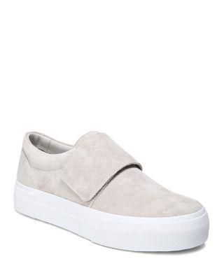 Suede Cage Platform Sneakers