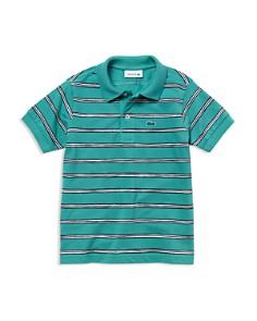 Lacoste Boys' Mini-Stripe Piqué Polo - Little Kid, Big Kid - Bloomingdale's_0