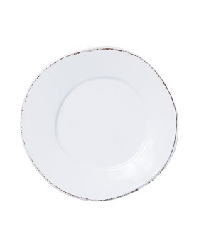 VIETRI - Melamine Lastra White Dinner Plate