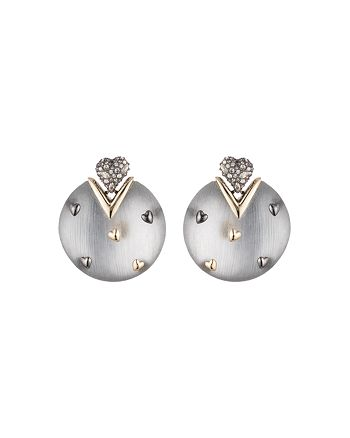 Alexis Bittar - Heart Studded Drop Earrings