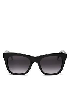 rag & bone - Women's 1001 Gradient Rectangular Sunglasses, 52mm