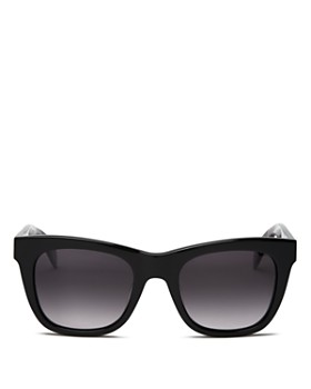 rag & bone - Women's 1001 Gradient Rectangular Sunglasses, 52mm