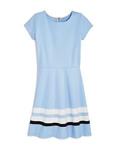 AQUA - Girls' Solid & Striped Dress, Big Kid - 100% Exclusive