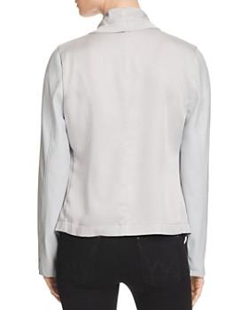 Bagatelle - Mixed Media Drape Jacket