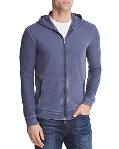 John Varvatos Star USA Burnout French Terry Zip Hooded Sweatshirt - 100% Exclusive - Bloomingdale's_0
