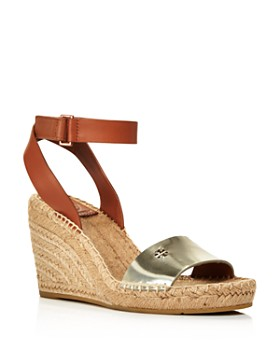 Tory Burch - Women's Bima Espadrille Platform Wedge Sandals