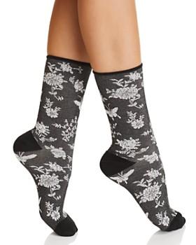 Natori - Mariposa Crew Socks
