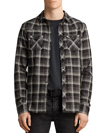 ALLSAINTS - Blackroad Regular Fit Button-Down Shirt