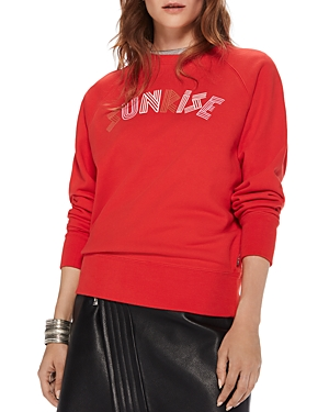 Scotch & Soda Sunrise Graphic Sweatshirt
