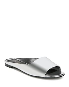 Via Spiga - Women's Hana Leather Slide Sandals - 100% Exclusive