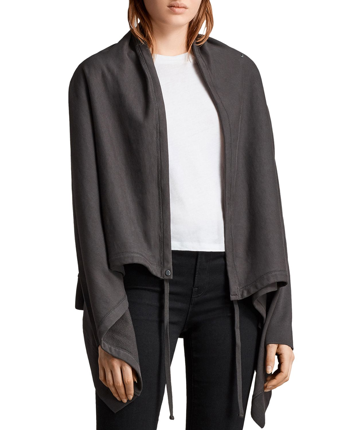 Ivy Draped Cardigan  by Allsaints