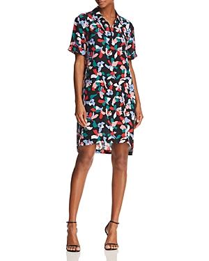 Equipment Mirelle Printed Silk Shirt Dress