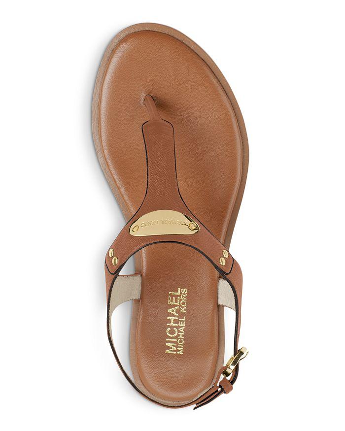 a746aaf1116 MICHAEL Michael Kors - Women s MK Plate Thong Sandals
