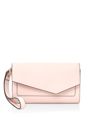 Cobble Hill Wristlet Wallet, Blossom/Gold