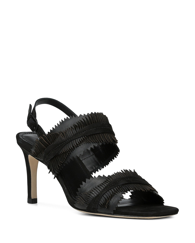 Donald Pliner Women's Kit Nubuck Leather Slingback Sandals STlUns6S