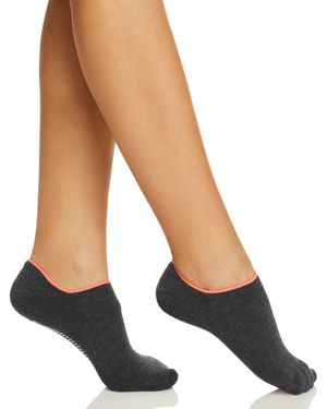 HUE INSPIRATION GRIPPER CUSHION NO-SHOW SOCKS