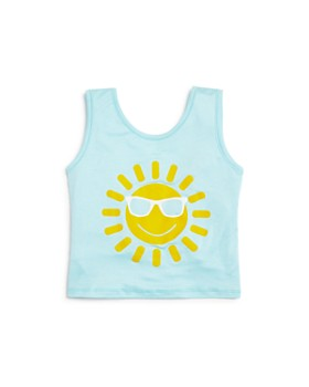 Play Six - Girls' Sun Tie-Back Tank - Little Kid