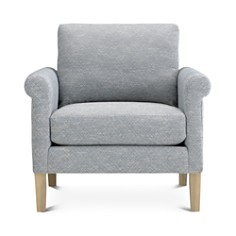 Bloomingdale's Artisan Collection Roll Arm Chair _0