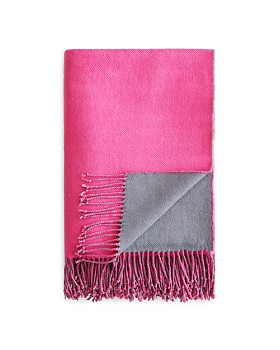 Sparrow & Wren - Reversible Mohair Throw